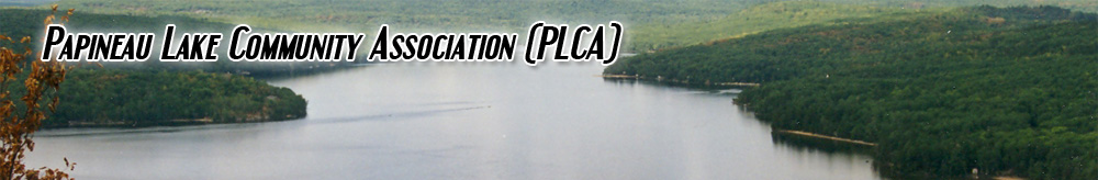 Papineau Lake Community Association (PLCA)