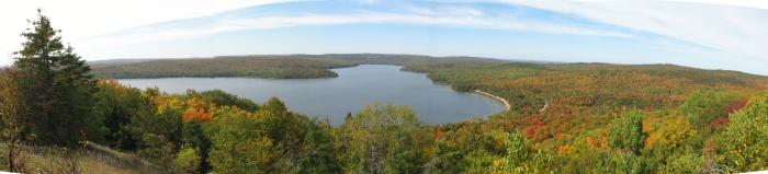 Papineau Lake in the Fall